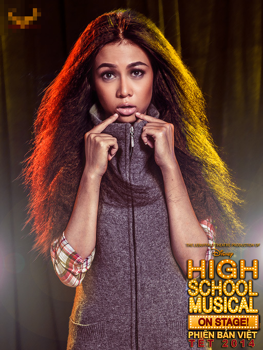 """Tạo hình sặc sỡ chất kịch của """"High School Musical"""" phiên bản Việt 10"""