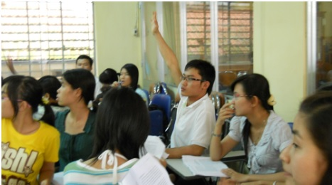 Càng lớn học sinh càng lười giơ tay 1