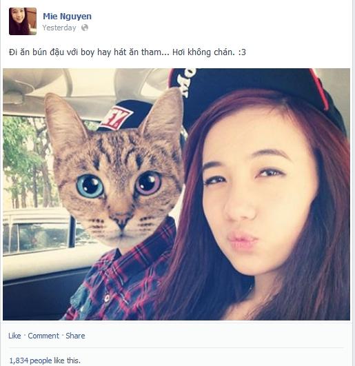 Xôn xao vì thông tin JVevermind đang hẹn hò với hot girl Mie 1