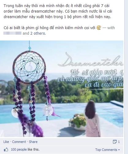 Cơn sốt phim The Heirs khiến giới trẻ Việt đổ xô săn lùng Dreamcatcher 19