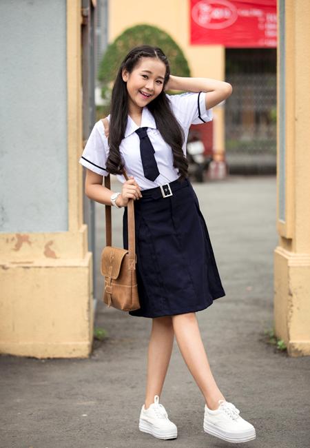 Ngắm hot girl Việt mặc đồng phục giản dị nhưng vẫn cực xinh 29