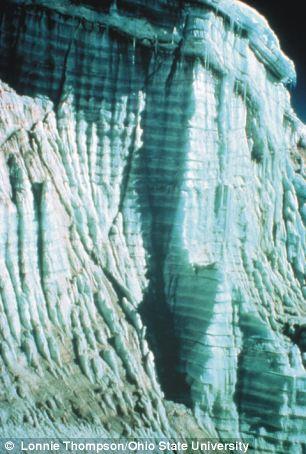 Hình ảnh băng giá 1.600 tuổi tan chảy chỉ trong 25 năm 1
