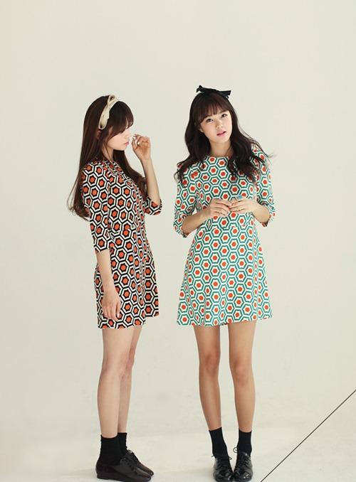Chọn váy theo xu hướng thời trang thập niên 60s 7