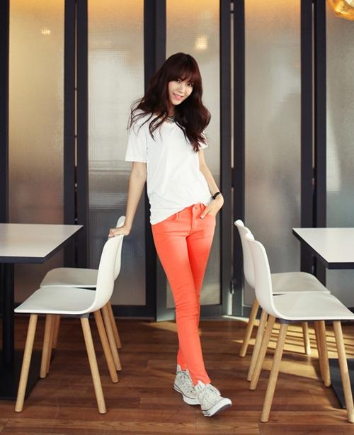 Nắm bắt nhanh xu hướng quần skinny năm 2013 1