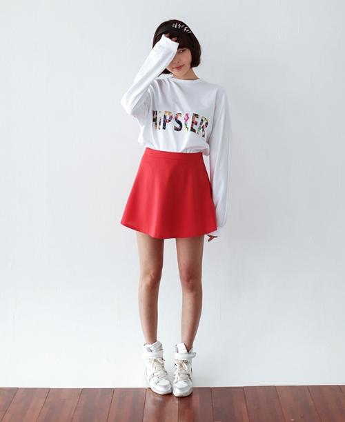 101 kiểu phối đồ cùng giày đế bệt phong cách như Jessica - SNSD 18