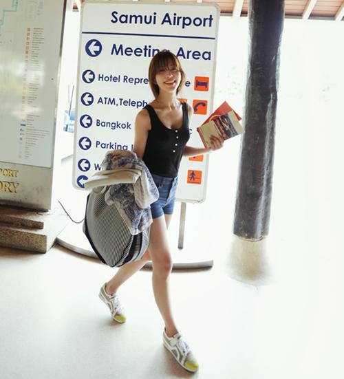 101 kiểu phối đồ cùng giày đế bệt phong cách như Jessica - SNSD 21