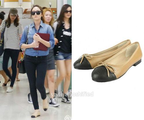 101 kiểu phối đồ cùng giày đế bệt phong cách như Jessica - SNSD 22
