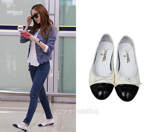 101 kiểu phối đồ cùng giày đế bệt phong cách như Jessica - SNSD 23