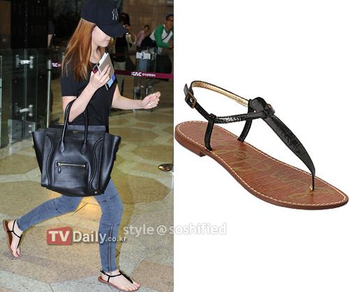 101 kiểu phối đồ cùng giày đế bệt phong cách như Jessica - SNSD 25