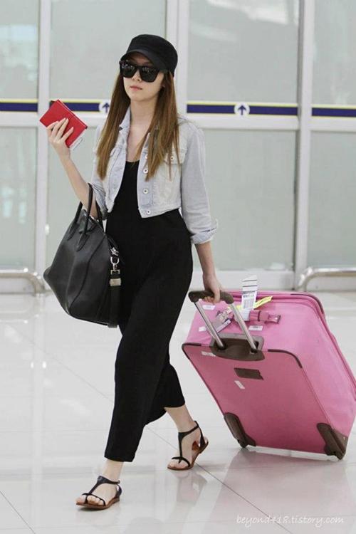 101 kiểu phối đồ cùng giày đế bệt phong cách như Jessica - SNSD 26