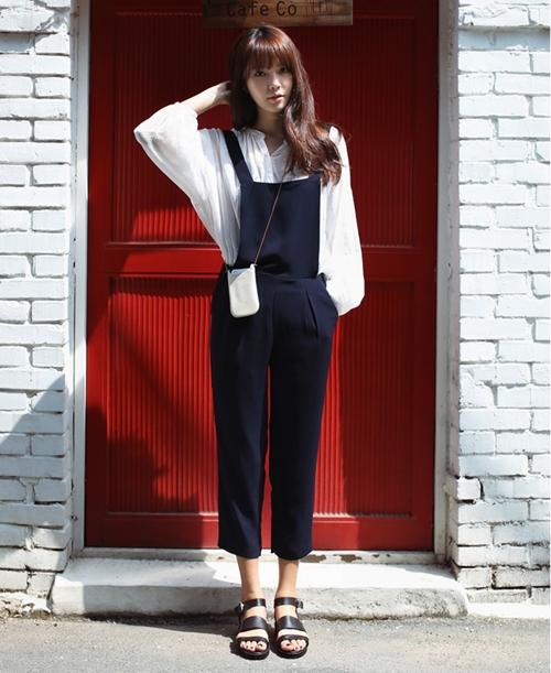 101 kiểu phối đồ cùng giày đế bệt phong cách như Jessica - SNSD 29