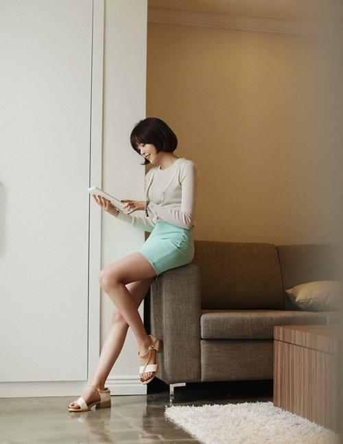 101 kiểu phối đồ cùng giày đế bệt phong cách như Jessica - SNSD 30