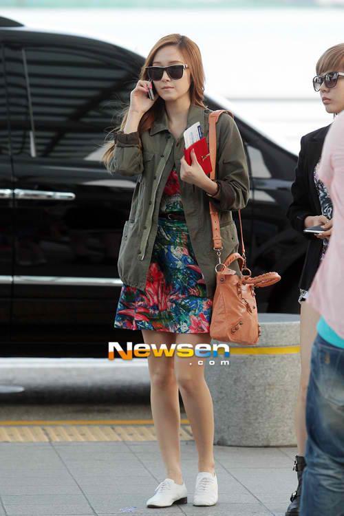 101 kiểu phối đồ cùng giày đế bệt phong cách như Jessica - SNSD 4