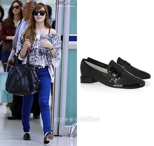 101 kiểu phối đồ cùng giày đế bệt phong cách như Jessica - SNSD 7