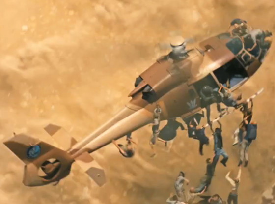 Zombie tấn công trực thăng trong ngày tận thế 3