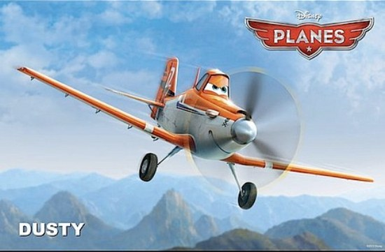 "Siêu đội ""Planes"" sặc sỡ của Pixar 2"
