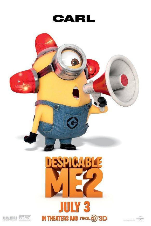 "Minion (Despicable Me 2) hóa trang siêu ""đỏm dáng"" 3"
