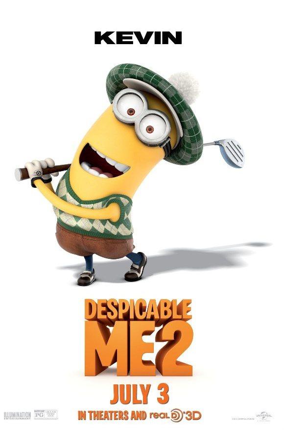 "Minion (Despicable Me 2) hóa trang siêu ""đỏm dáng"" 4"