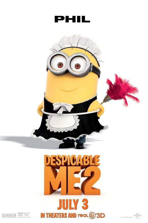 "Minion (Despicable Me 2) hóa trang siêu ""đỏm dáng"" 2"