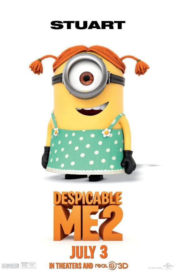 "Minion (Despicable Me 2) hóa trang siêu ""đỏm dáng"" 1"