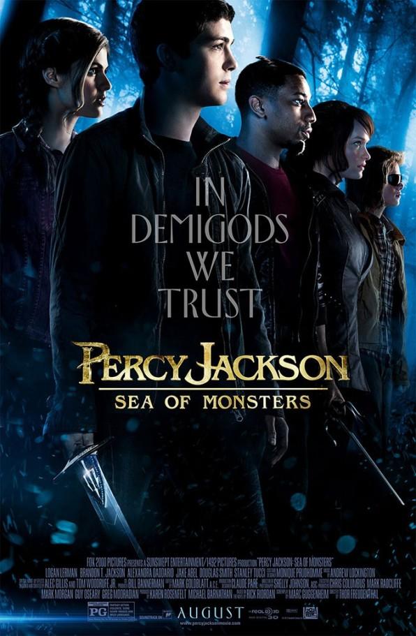 Percy Jackson bị quái vật bao vây tứ phía 2