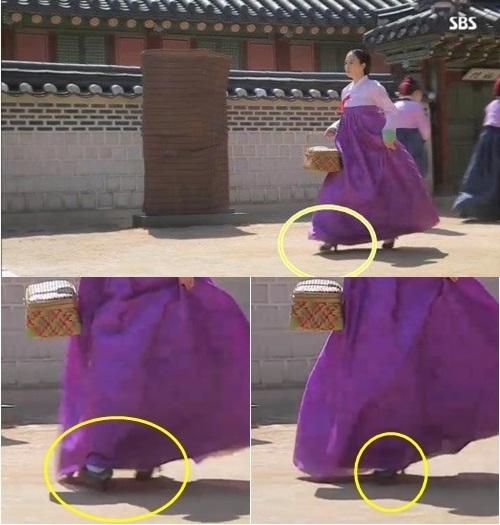 Kim Tae Hee gây tranh cãi vì... đi giày cao gót 2