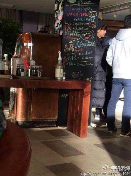 Bi (Rain) tiếp cận Lưu Diệc Phi trong quán cafe 3
