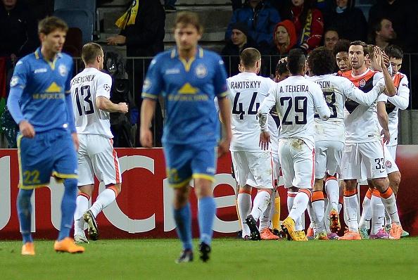 Bayern Munich và Shakhtar cùng lập kỷ lục vô tiền khoáng hậu tại CL 4