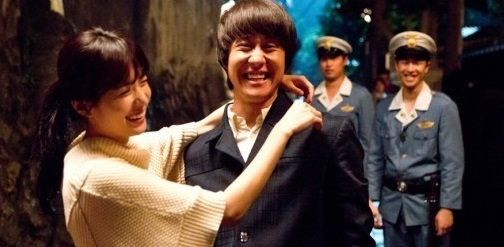 """Han Hyo Joo nhắm mắt, trao nụ hôn cho """"chàng Rác"""" Jung Woo 2"""