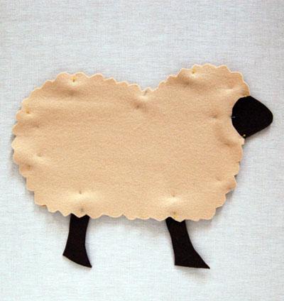 Gối ôm cừu bông vừa đẹp vừa êm 4