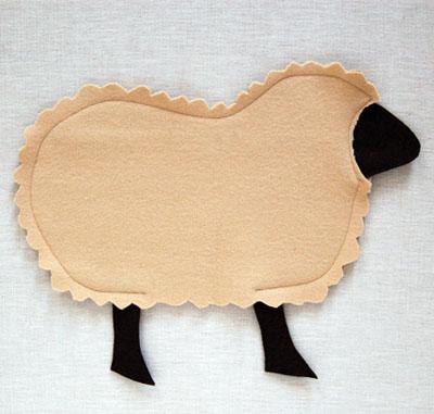 Gối ôm cừu bông vừa đẹp vừa êm 5