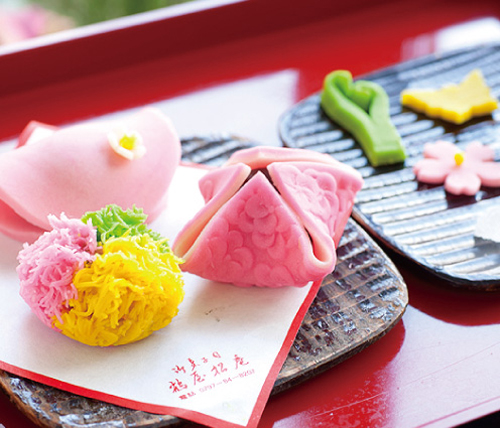 Nghệ thuật ẩm thực Nhật trong bánh wagashi 2