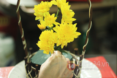 Xem nhanh cách cắm hoa cúc đơn giản 5