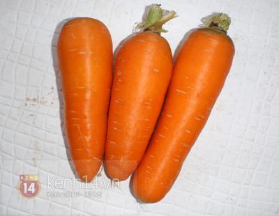 Tết này mời khách mứt cà rốt tự tay làm 1