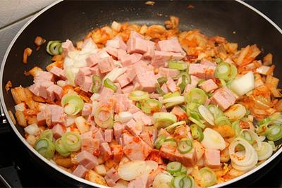 Cơm chiên kimchi cay ngon hấp dẫn 3