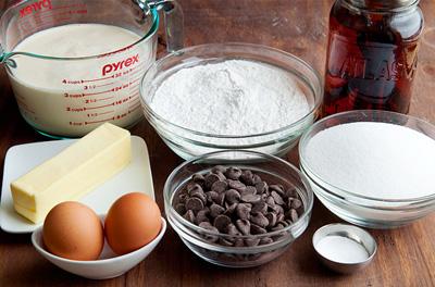 Bánh chocolate làm bằng bột nếp cực lạ mà siêu ngon 1