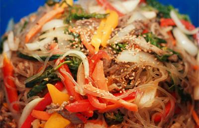 Ăn miến trộn Hàn Quốc thanh mát dễ làm 8
