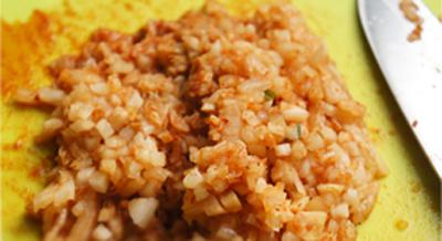 Bắp viên kim chi giòn tan hấp dẫn theo kiểu takoyaki 2