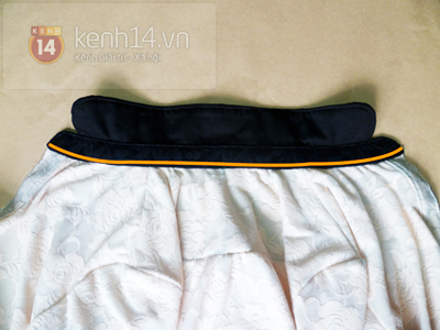 Chi tiết cách may áo sơ mi ren dịu dàng nữ tính 12