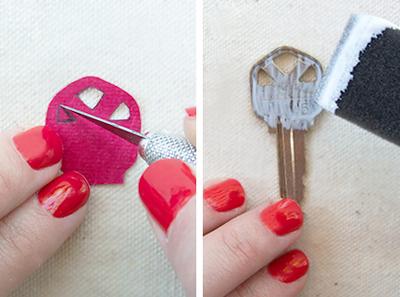 Tạo dấu ấn riêng biệt cho những chiếc chìa khóa 3