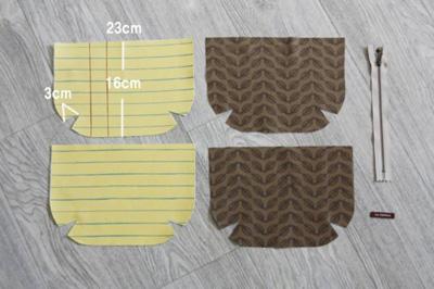 Hướng dẫn chi tiết cách may chiếc túi nhỏ xinh xắn 1