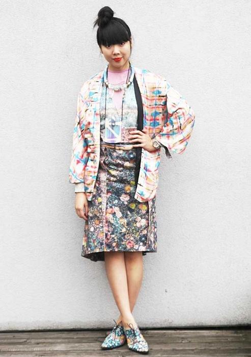 Áo khoác kimono - Xu hướng áo bay bổng, nhẹ bẫng của mùa hè 19