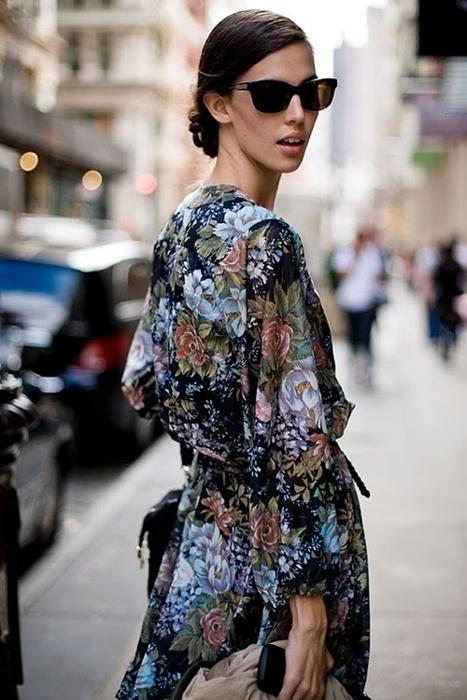 Áo khoác kimono - Xu hướng áo bay bổng, nhẹ bẫng của mùa hè 30