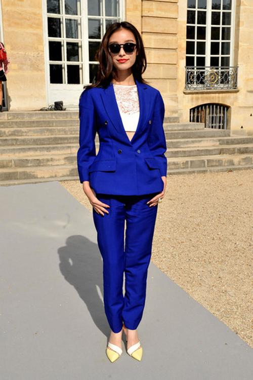 Angela Baby xinh đẹp và thời thượng tại Paris Fashion Week 9