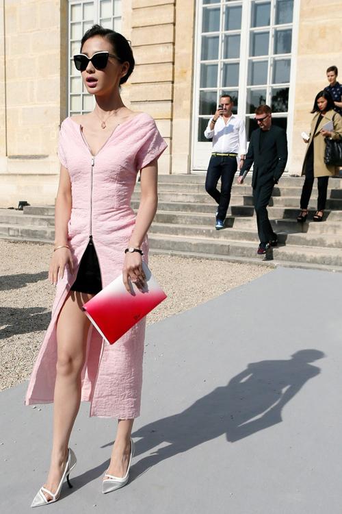 Angela Baby xinh đẹp và thời thượng tại Paris Fashion Week 4
