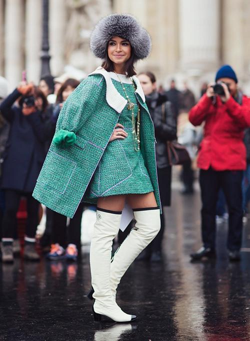 4 mẫu áo khoác trendy cho những ngày Tết lạnh 9
