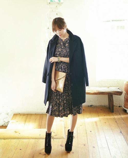 Chọn áo khoác hoàn hảo cho từng dáng váy 12