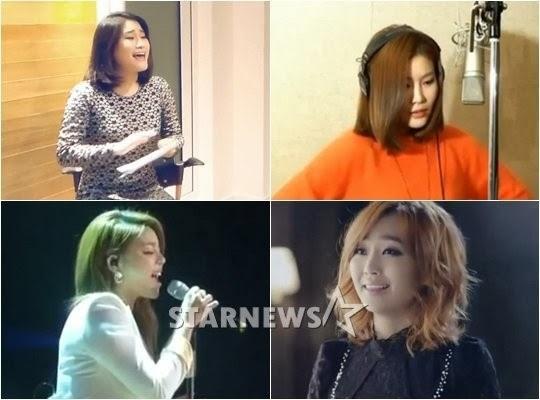 """Fan Hàn ngán tận cổ phong trào cover OST """"Frozen"""" 1"""
