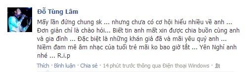 Sao Việt tiếc thương sự ra đi của Wanbi Tuấn Anh 14