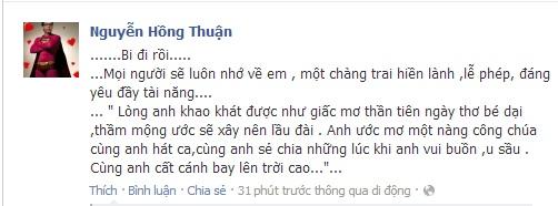 Sao Việt tiếc thương sự ra đi của Wanbi Tuấn Anh 18